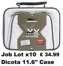 "Job Lot Wholesale x10 Dicota Laptop Carry Case Notebook Shoulder Bag 11.6"" White"