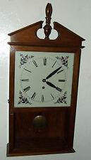 "Vintage Working Seth Thomas ""Time Only"" Handmade 8 Day Mantel Shelf Clock c.1974"