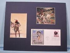 """In a Dream I Met George Washington"" illustrator N.C. Wyeth & First Day Cover"