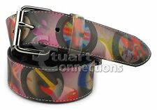 NEW Valerie Stevens Women's Ladie's Hologram Record Album Belt Size M PL8532847