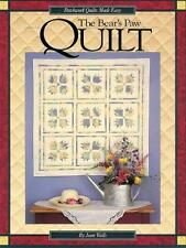 The Bear's Paw Quilt by Jean Wells - Paperback Book