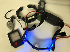 Spy Gear Lot Toys Wild Planet Secret Agents Light Up Goggles Headset Decoder Set