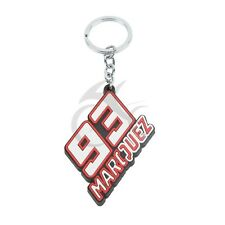 Rubber Resin Motorcycle Keychain Keyring For Marc Marquez 93 Models Cool Gift