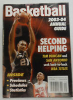 Basketball Digest Magazine 2003-04 Tim Duncan Second Helping 012915R2