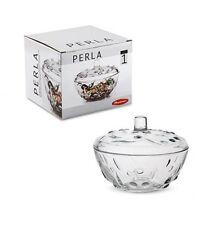 Pasabahce 97236 Perla azucarero Candy caja de cristal con tapa