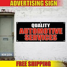AUTOMOTIVE SERVICES Banner Advertising Vinyl Sign Flag QUALITY car repair detail