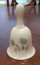 """Wedgwood """"Ice Rose"""" Pattern Dinner Bell 4"""" Made In England Excellent!"""