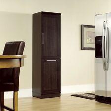 Food Pantry Storage Cabinet Kitchen Cupboard Trash Receptacle Holder Organizer