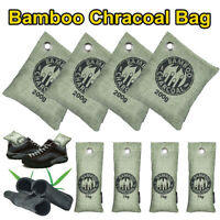 8 Pack Bamboo Charcoal Activated Carbon Air Freshener Bag Car Purifier Deodorant