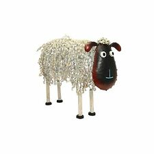 Primus Metal Sheep - Medium Garden Ornament Sculpture