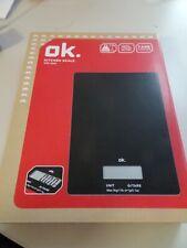 ok digitale Küchenwage OKS 3220