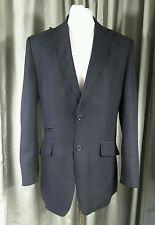 William Hunt Savile Row 100% Linen Black Jacket Blazer 40 EXCELLENT CONDITION