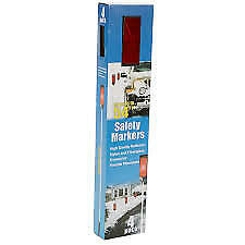 """Calderon 54"""" Reflector Safety Markers for Driveway & Walkway 4-Pack – BRAND NEW"""
