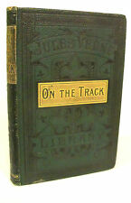 On the Track by Jules Verne - Ward, Lock & Co. - c1876