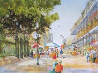 """Umbrellas of St. Ann"" New Orleans by Robert M. Rucker"