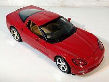 Hot Wheels 2003 Red Chevrolet Corvette C6 1:18 Scale