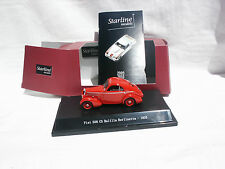 1 43 Starline Fiat 508 CS Balilla Berlinetta 1935 Red