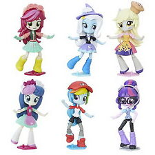 Set of 6: My Little Pony Equestria Girls Mall Collection Muffins Trixie Sweetie