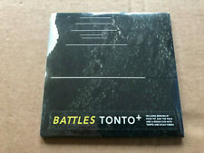 Battles - Tonto 6 Track CD EP with DVD (2007) NEW & Sealed