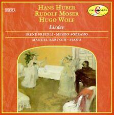 Hans Huber, Rudolf Moser, Hugo Wolf - Lieder, Irene Friedli, CD