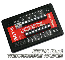 EGT-K Thermocouple Amplifier type-K 0-1250°C QUAD CHANNEL 0-5V 4CH. AD8495