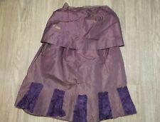 Rare! Wonderful! Antique Adult? Child? 1850 Silk Skirt & Materials Bisque Dolls