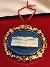 "The White House 200th Anniversary Christmas 2000 Ornament 3.7 x 3"" President Usa"