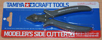 Tamiya 74093 Craft Tools, Modeler's Side Cutter (Grey) for RC & Plastic Kits NIP