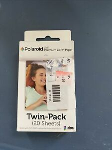 Polaroid 2x3 inch Premium ZINK Photo Paper TWIN PACK (20 Sheets)