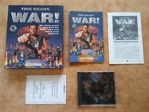 THIS MEANS WAR  PC DOS   deutsch  USK 12 #