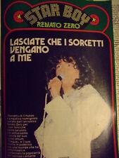 STAR BOY 1980 RENATO ZERO 12 PAGINE