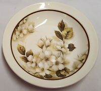 Vintage Crown Lynn Genuine Ironstone Rambling Rose Cereal Bowl c1982