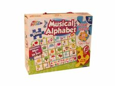 GIANT 30 PIECE CHILDRENS KIDS MUSICAL SING-A-LONG ALPHABET JIGSAW PUZZLE 120422