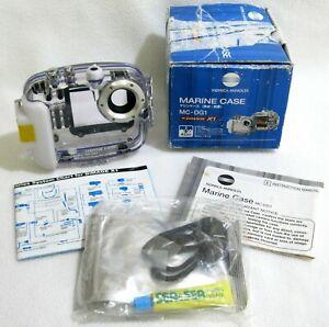 Konica Minolta MC-DG1 Underwater Case Housing f. DiMage X1 Camera OPEN BOX - NEW