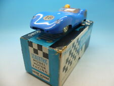 Scalextric C56 Lister Jaguar in Blue, mint and boxed