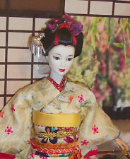 Maiko Barbie doll NRFB World Culture 2005 Mattel Beautiful doll!! J0982