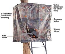 Camo Universal Hunting Tree Stand Treestand Seat Blind Ladder Climbing Game Deer
