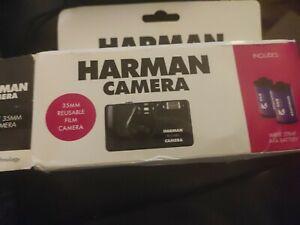 ILFORD Harman Re-useable 35mm Camera Kit Inc 2 Kentmere B&w 400 36exp Films - 6…