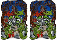 Ghost & Goblins Arcade Game Side art decal set