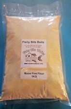 Fine Maize Flour/Meal for use with Boilie making & groundbaits  carp Fishing 1KG