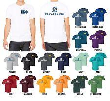 Pi Kappa Phi Fraternity Bella+Canvas Star Shield and Letters Shirt Pi Kapp - NEW