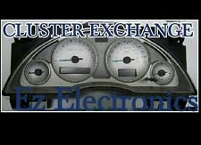 """2002 TO 2004 BUICK RENDEZVOUS INSTRUMENT CLUSTER  """"EXCHANGE"""" WITH LEDS 10338962"""