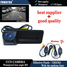 WiFi Reversing Car Trunk Handle Parking Camera for Skoda octavia fabia audi A1
