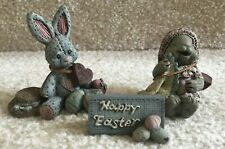 Sarah's Attic Happy Easter Bunny Lot Of 3 Free Shipping