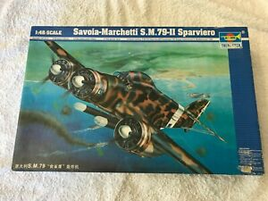 Trumpeter 1:48 Savoia-Marchetti S.79 Sparviero Model Kit New
