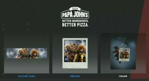 Call of Duty Black Ops Cold War PAPA JOHNS UK 1 ITEM CODE KEY REGION FREE