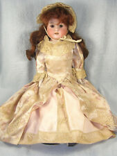 "Antique Heubach Koppelsdorf Bisque Head Dolly Face Doll - 18"" REDHEAD"