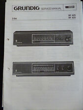 Original Service Manual  Grundig RF 425 RF 625