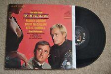 Man From U.N.C.L.E. Television Soundtrack Hugo Montenegro Record LP VG++