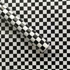 Mosaic Self Adhesive Wallpaper Black White Peel and stick ContactPaper Removable